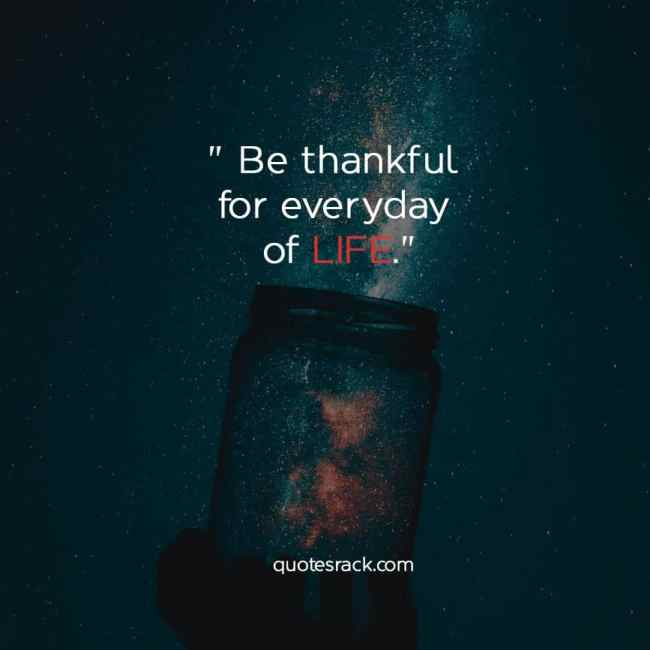 be thankful and appreciate quotes