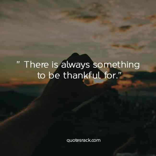 a lot to be thankful for quotes