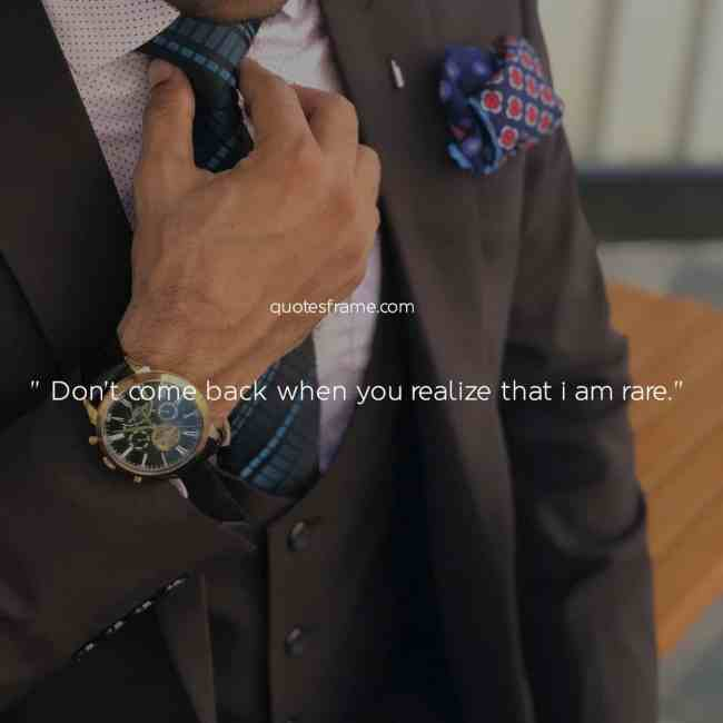 quotes on classy attitude