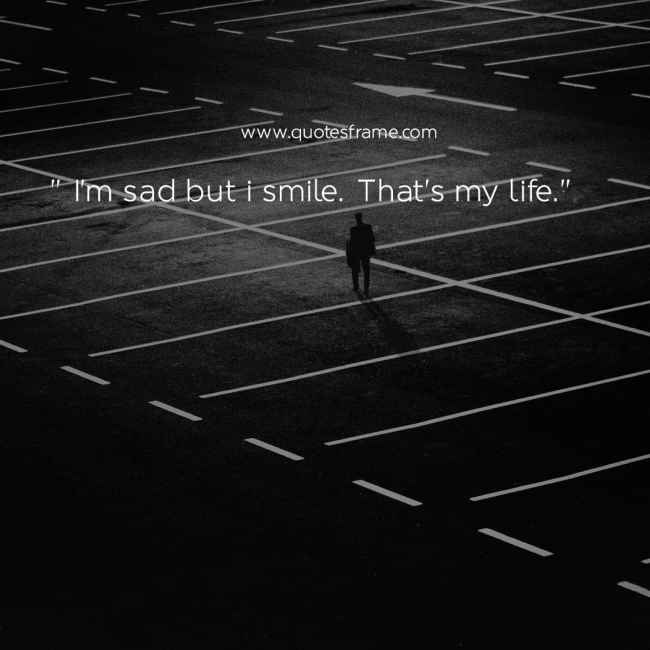 the most sad quotes about life