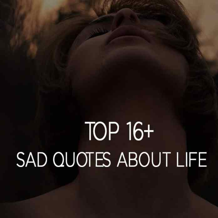 Sad Quotes About Life
