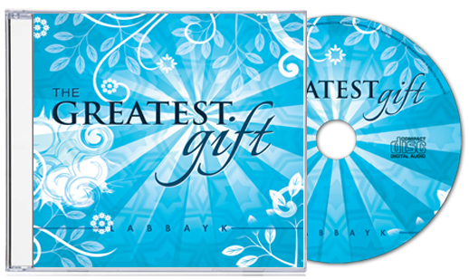 The Greatest Gift - CD Cover and CD