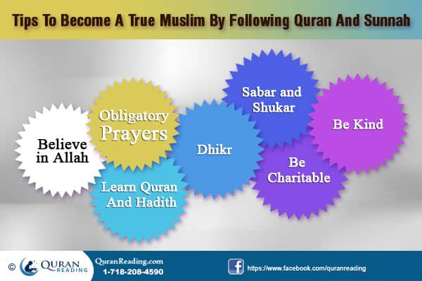 Becoming True Muslim