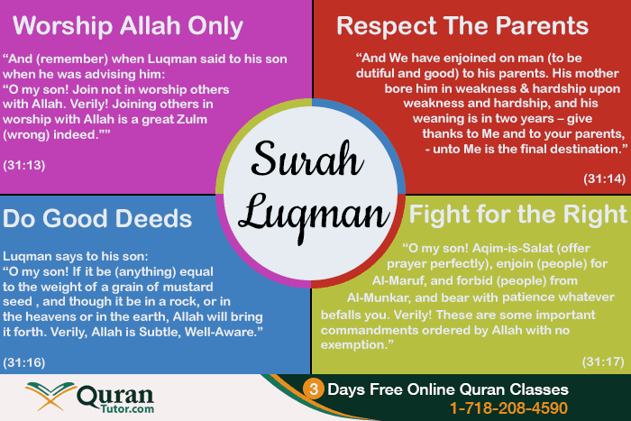 Lessons We Can Learn From Surah Luqman Islam