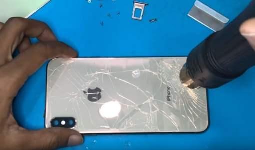 Thay kính lưng giá rẻ IPHONE X/Xr/Xs/Xs Max Iphone 11/ Iphone Pro/Max 3