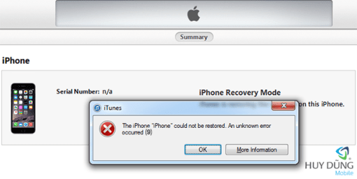 Sửa chữa iPad 3 restore lỗi 9/28/40/4013 giá tốt tại Nha Trang 1