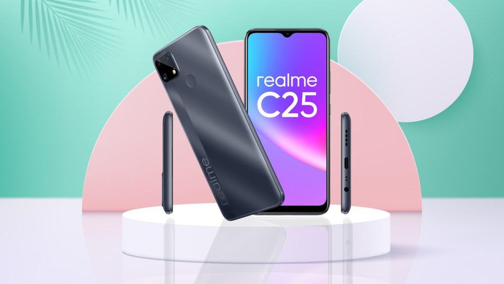 Realme C25 ra mắt tại VN: Thiết kế trẻ trung, cụm 3 camera 48MP, pin khủng 6000mAh, giá từ 4.69 triệu đồng - Ảnh 1.