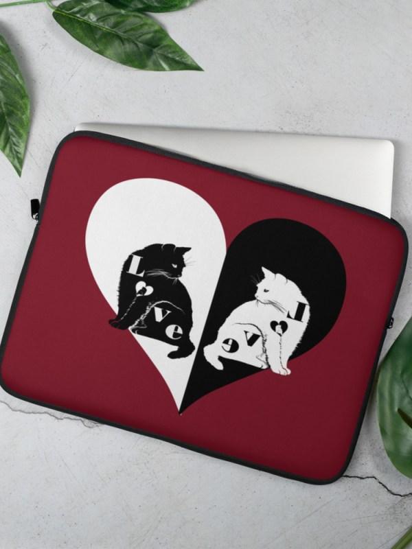 Laptop Sleeve for cat ladies