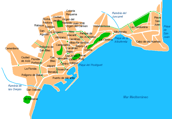 Alicante-barrios