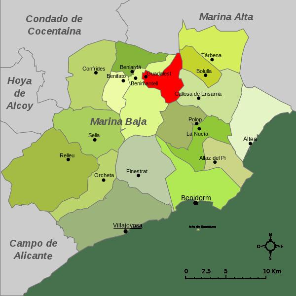 Guadalest-Mapa_de_la_Marina_Baja