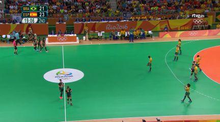 balonmano españa brasil