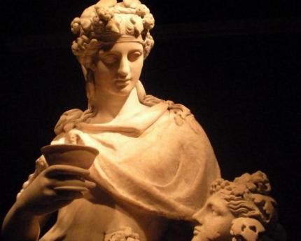 estatua vino romano
