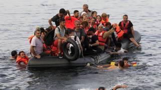 paquebote refugiados sirios