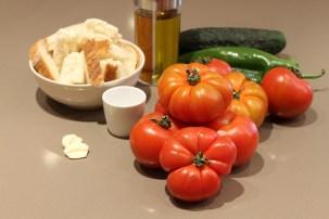 ingredientes gazpach andaluz