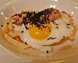 huevos con trufa negra