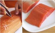 salmon limpieza