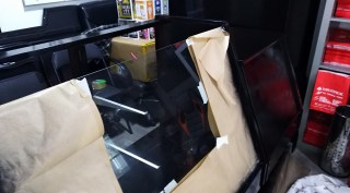 mueble maverick negro acabado