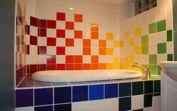 azulejos pintados de colores