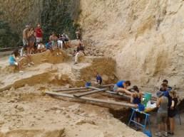 neandertales en el salt alcoy