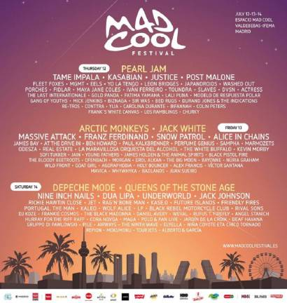 cartel mad cool 2018