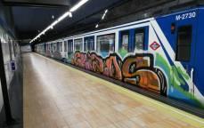 brafiteros metro madrid