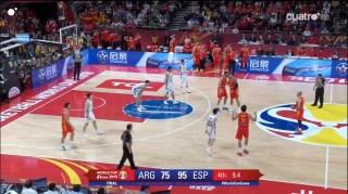 espana argentina ultimo final