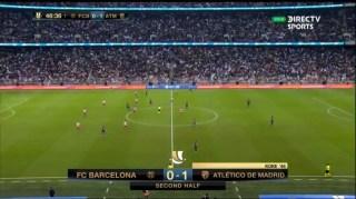 barça 0 Atletico 1 II