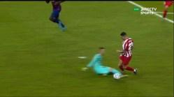 barça 3 Atletico 1 penal