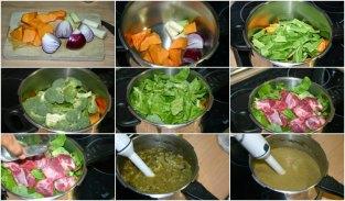 crema de verduras conternera