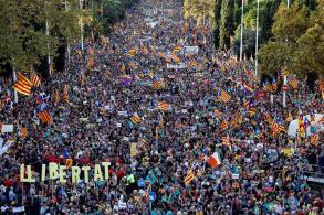barcelona manifestacion