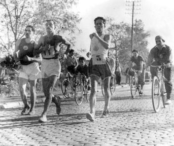 marcha atletica anos 50