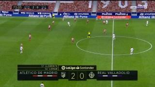 atletico 2 valladolid 0 final