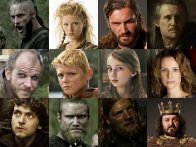 Vikingos reparto