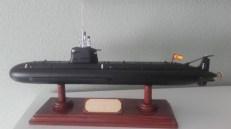 maqueta submarino s80 plus