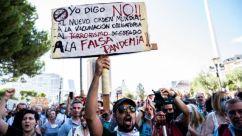 manifestaciones anti pandemia