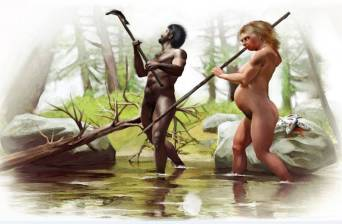 seres humanos primitivos