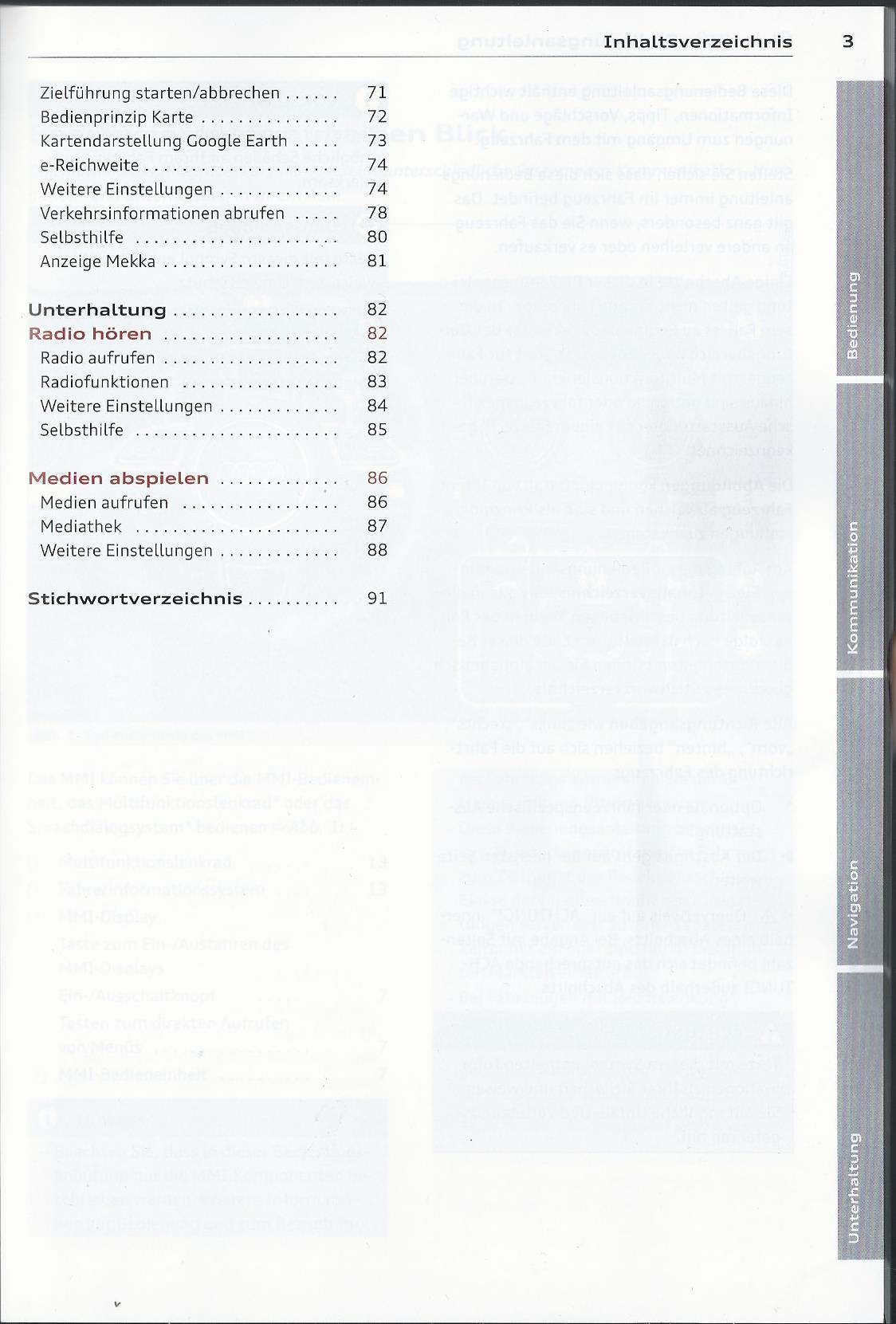 Audi Mmi Navigation Plus Betriebsanleitung