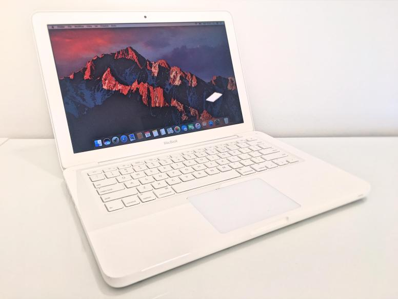 MacBook Bianco 8