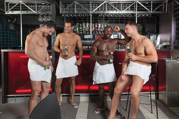 Gay sex pleasure house and spa