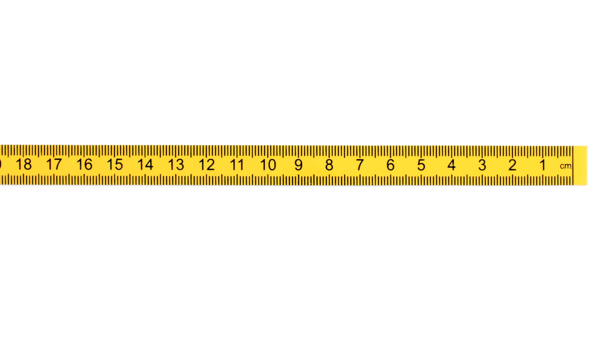 Adhesive Backed Plastic Measuring Tape