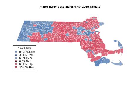 MA Senate 2010 Results