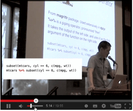 "Winston Chang's ""Interactive Graphics with ggvis"" at useR! 2014"