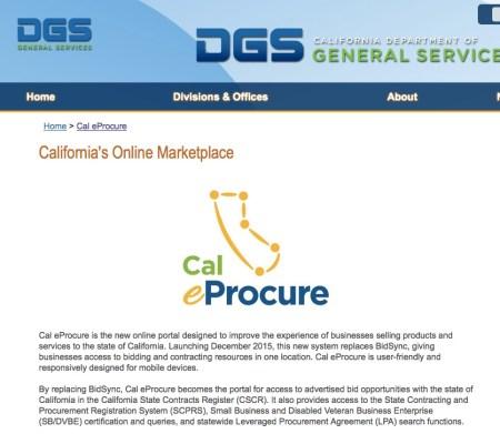 DGS - Cal e Procure