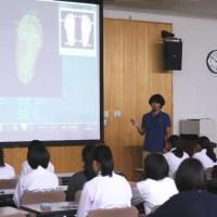 学生向け足の講習会