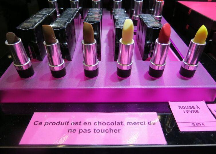 Rouge à Lèvre de chocolat