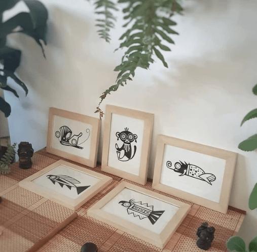 Série animaux-amulettes