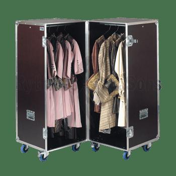 flight case pour 24 costumes version classique modele opera