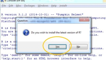 How to upgrade R on windows XP – another strategy (and the R code to