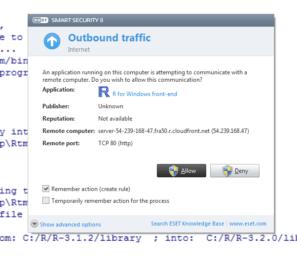 A step by step (screenshots) tutorial for upgrading R on