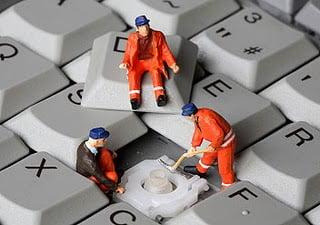 تنظيف الكمبيوتر
